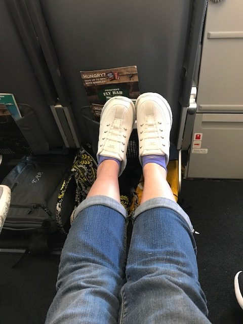 Exit Row on Frontier
