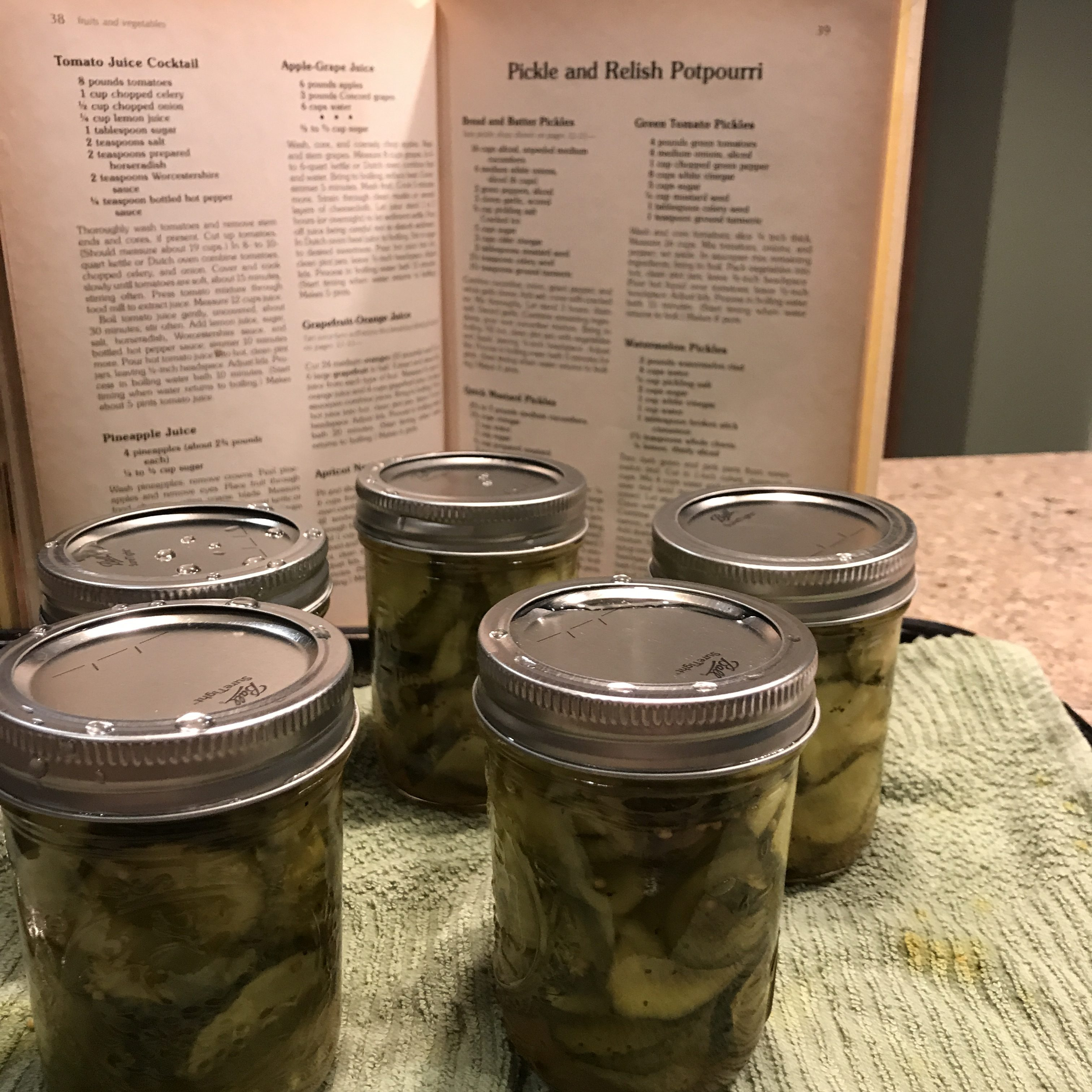 Grandma's Bread and Butter Pickles